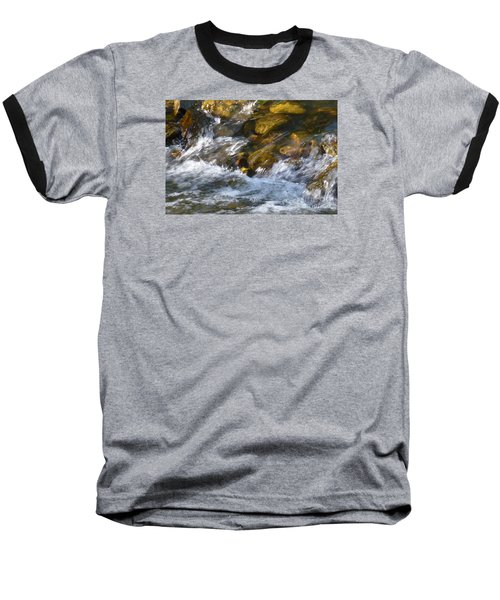 Baseball T-Shirt featuring the photograph Watercourse by Jean Bernard Roussilhe