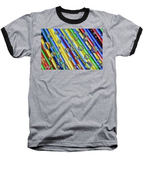 waterDroplets02 Baseball T-Shirt