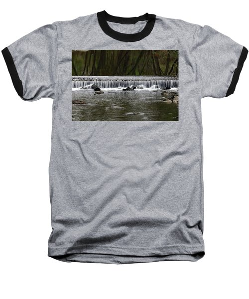 Waterfall 001 Baseball T-Shirt