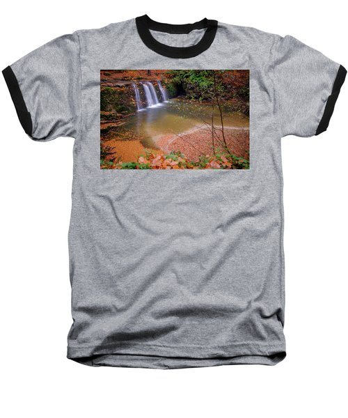 Waterfall-1 Baseball T-Shirt