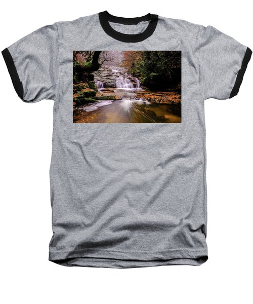 Waterfall-10 Baseball T-Shirt