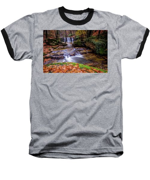 Waterfall-2 Baseball T-Shirt