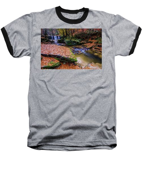 Waterfall-3 Baseball T-Shirt