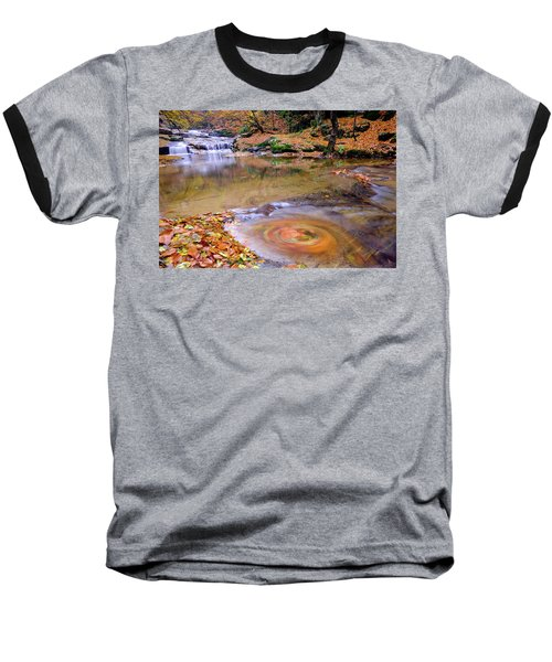 Waterfall-5 Baseball T-Shirt
