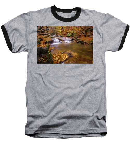 Waterfall-6 Baseball T-Shirt