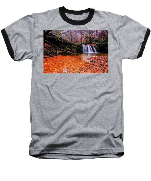 Waterfall-7 Baseball T-Shirt
