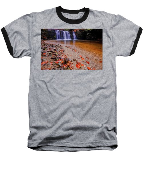 Waterfall-8 Baseball T-Shirt