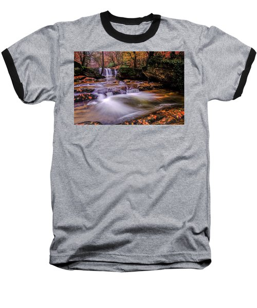 Waterfall-9 Baseball T-Shirt