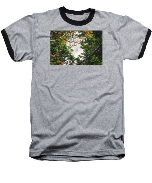 Baseball T-Shirt featuring the photograph Waterfall Calling My Name by Janie Johnson