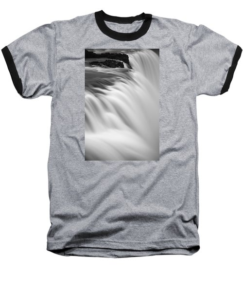 Baseball T-Shirt featuring the photograph Waterfall by Chris McKenna