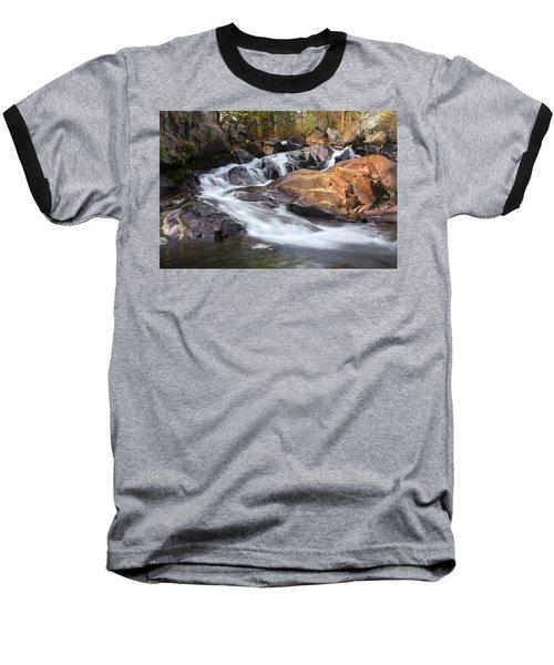 Waterfall In Lee Vining Canyon 2 Baseball T-Shirt