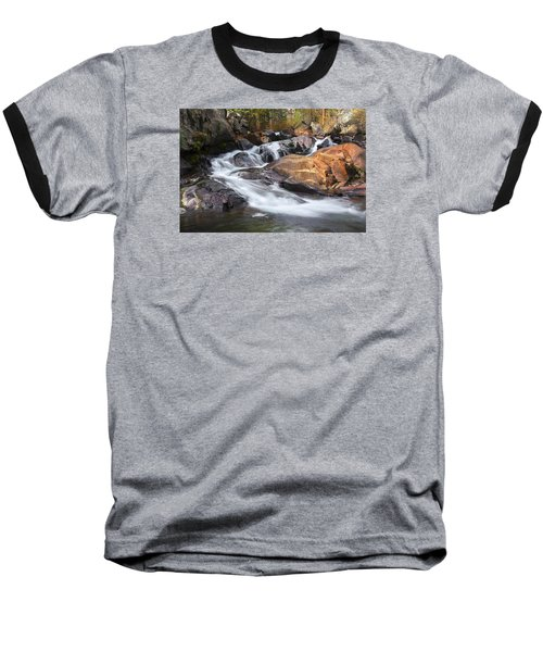 Waterfall In Lee Vining Canyon 2 Baseball T-Shirt