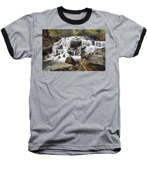 Waterfall In Lee Vining Canyon Baseball T-Shirt