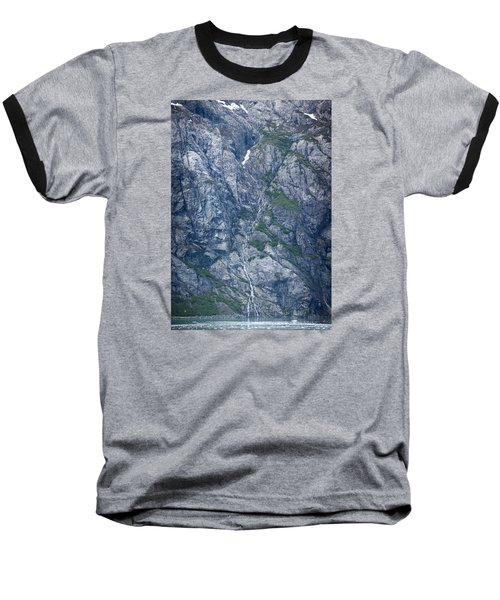 Waterfall Panorama Baseball T-Shirt