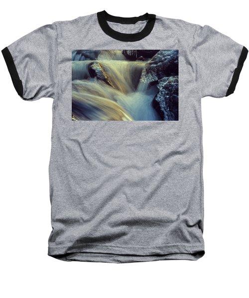 Waterfall Baseball T-Shirt by Scott Meyer