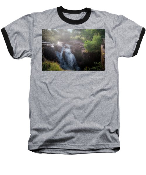 Baseball T-Shirt featuring the photograph Waterfall by Sergey Simanovsky