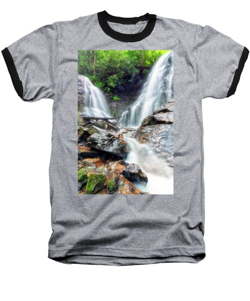 Waterfall Silence Baseball T-Shirt