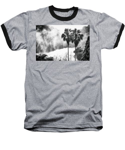 Baseball T-Shirt featuring the photograph Waterfall Sounds by Hayato Matsumoto