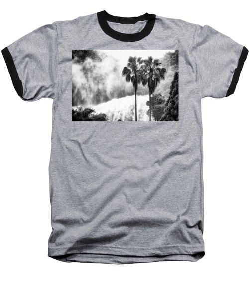 Waterfall Sounds Baseball T-Shirt