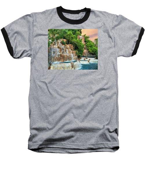 Waterfall Vegas Baseball T-Shirt