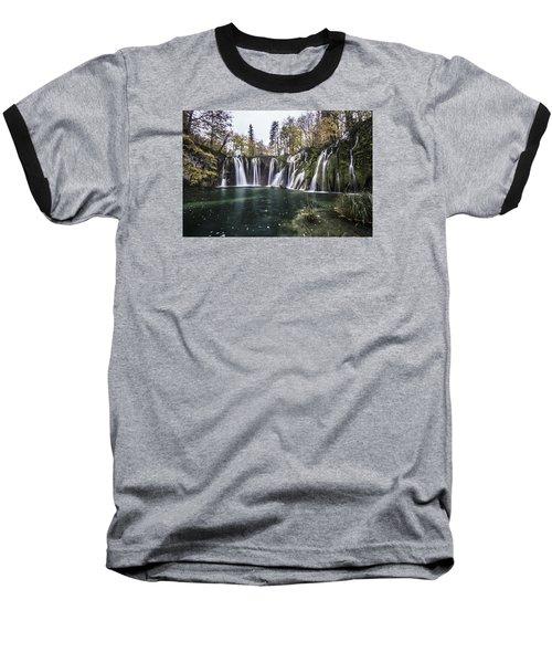 Waterfalls In Croatia Baseball T-Shirt