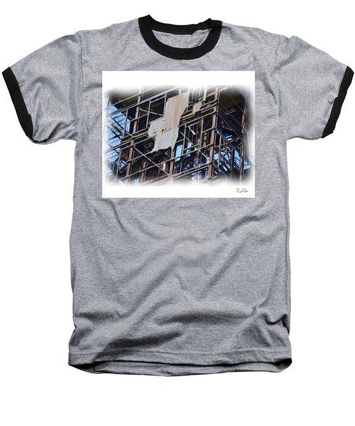 Waterfront Decay Three Baseball T-Shirt