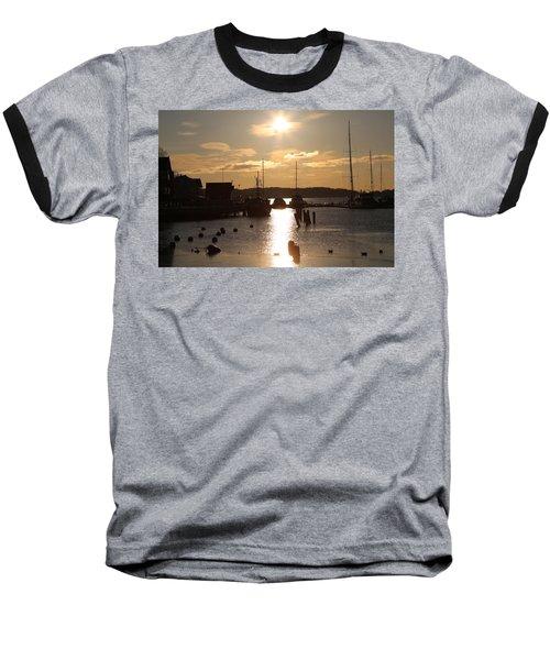 Waterfront, Oslo Fjords, Norway.  Baseball T-Shirt
