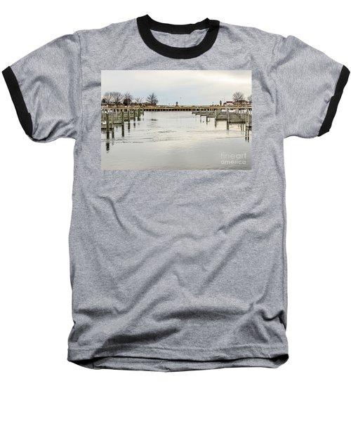 Waterfront Park In Ludington, Michigan Baseball T-Shirt