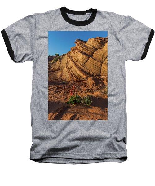 Waterhole Canyon Evening Solitude Baseball T-Shirt
