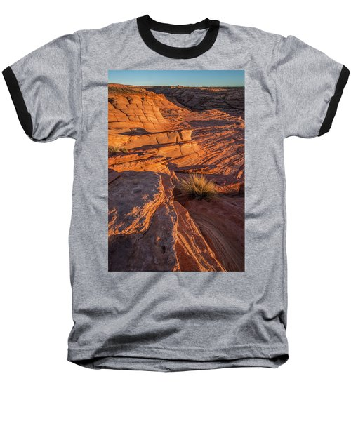 Waterhole Canyon Sunset Vista Baseball T-Shirt
