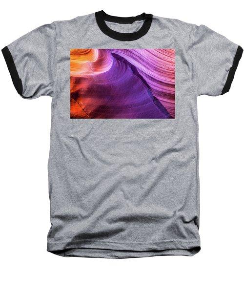 Waterhole Canyon Wave Baseball T-Shirt