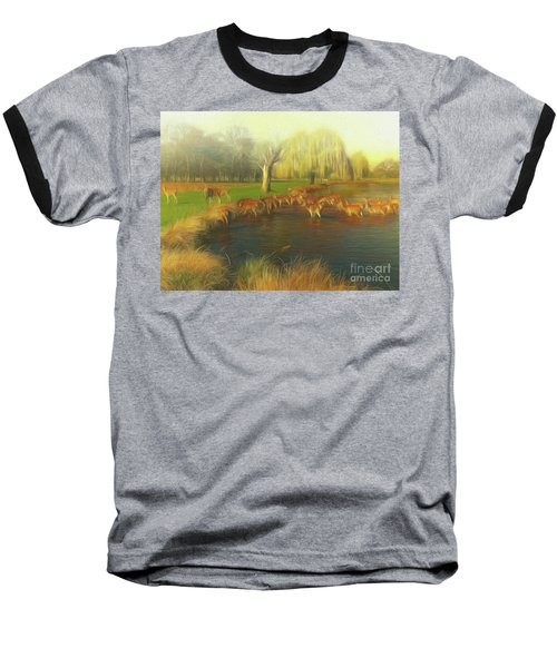 Watering Hole Baseball T-Shirt