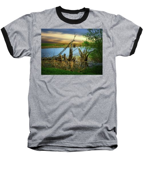 Watering Hole Baseball T-Shirt