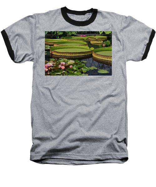 Waterlilies North And South Baseball T-Shirt