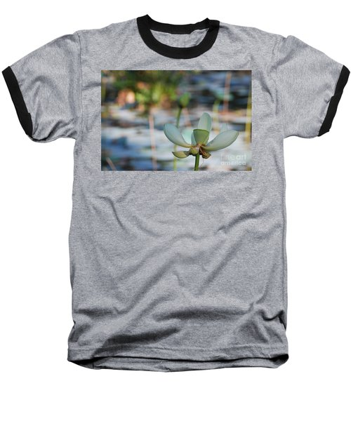 Waterlily Wash Horizontal Baseball T-Shirt