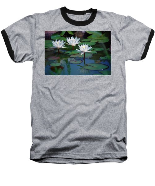 Waterlilys Baseball T-Shirt