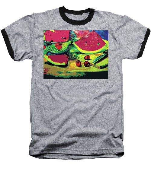 Watermelons Baseball T-Shirt
