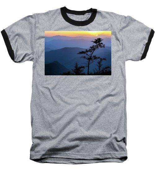 Waterrock Blues Baseball T-Shirt by Deborah Scannell