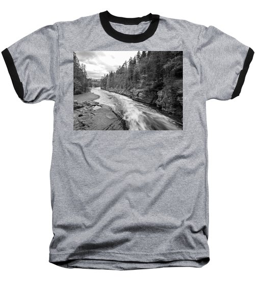Baseball T-Shirt featuring the photograph Waters Edge by Fran Riley