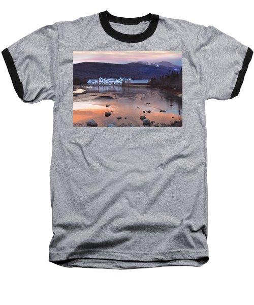 Waterville Valley Sunset Baseball T-Shirt