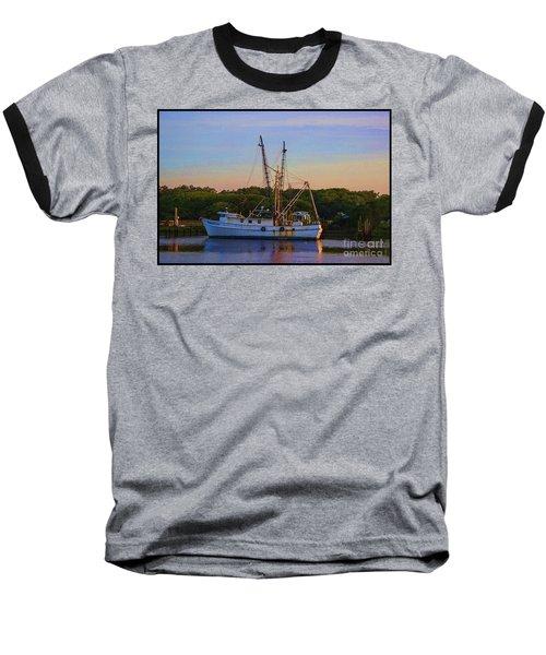 Old Shrimper Baseball T-Shirt