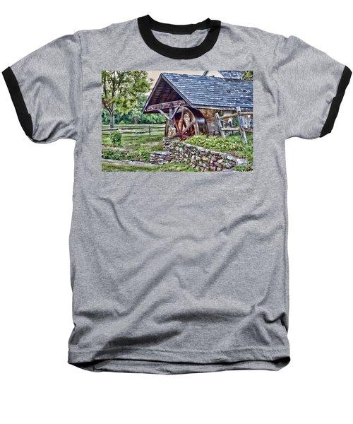 Waterwheel Baseball T-Shirt