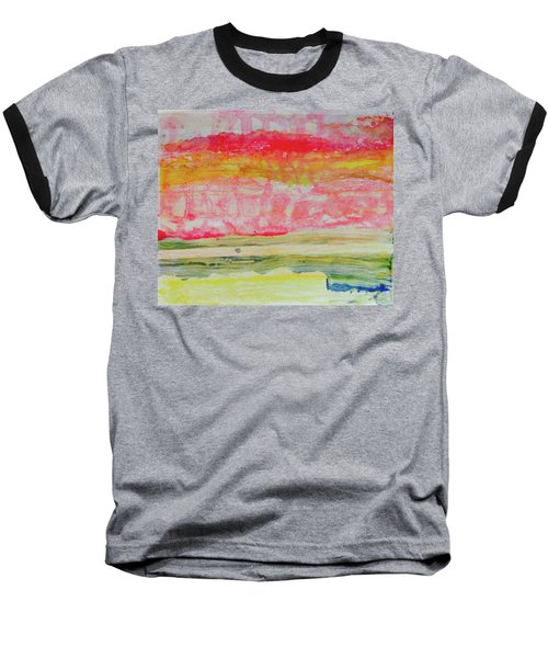 Watery Seascape Baseball T-Shirt