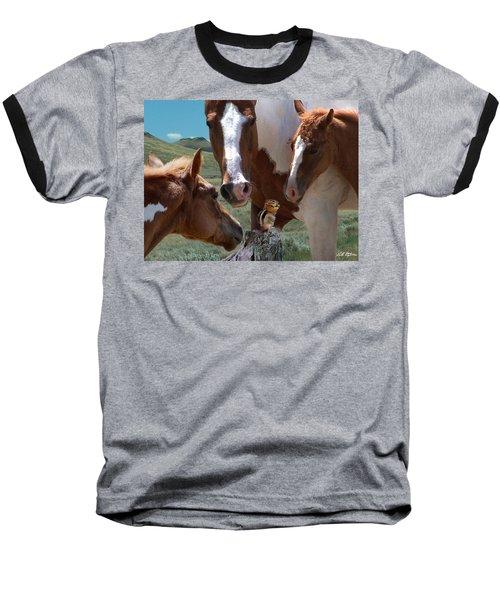 Watizit Baseball T-Shirt by Bill Stephens