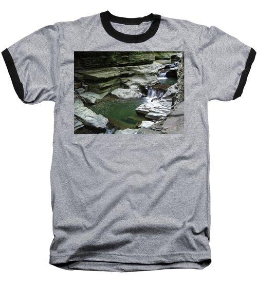 Baseball T-Shirt featuring the photograph Watkins Glen State Park by John Schneider