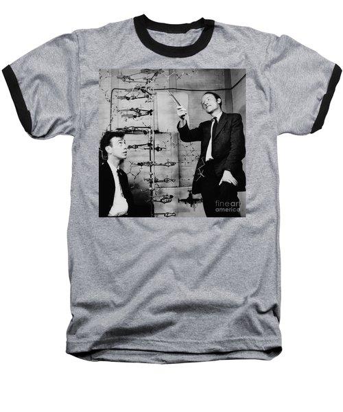 Watson And Crick Baseball T-Shirt