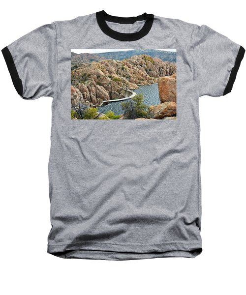 Watson Lake Dam Baseball T-Shirt