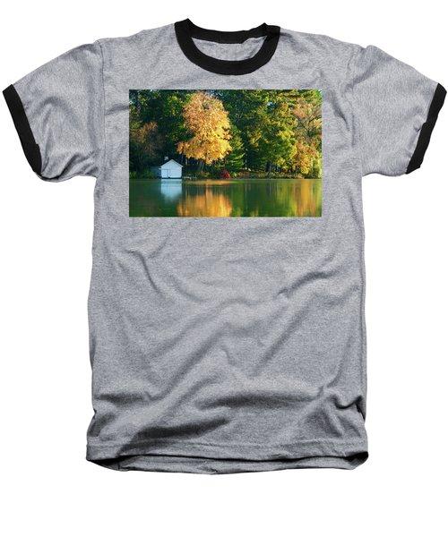 Waupaca Chain Boathouse Baseball T-Shirt by Trey Foerster