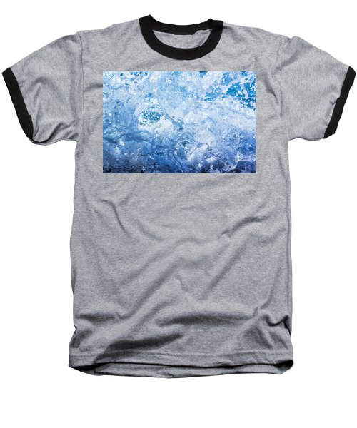 Wave With Hole Baseball T-Shirt