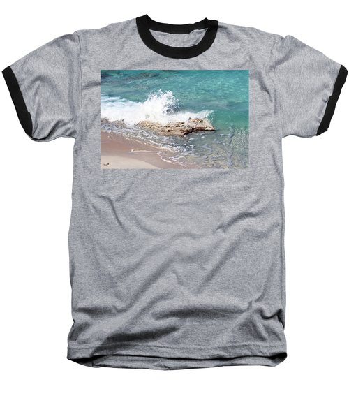 Gentle Wave In Bimini Baseball T-Shirt